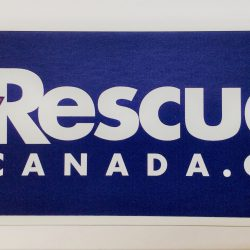 Rescue Canada, Sticker, Rescue Canada Sticker